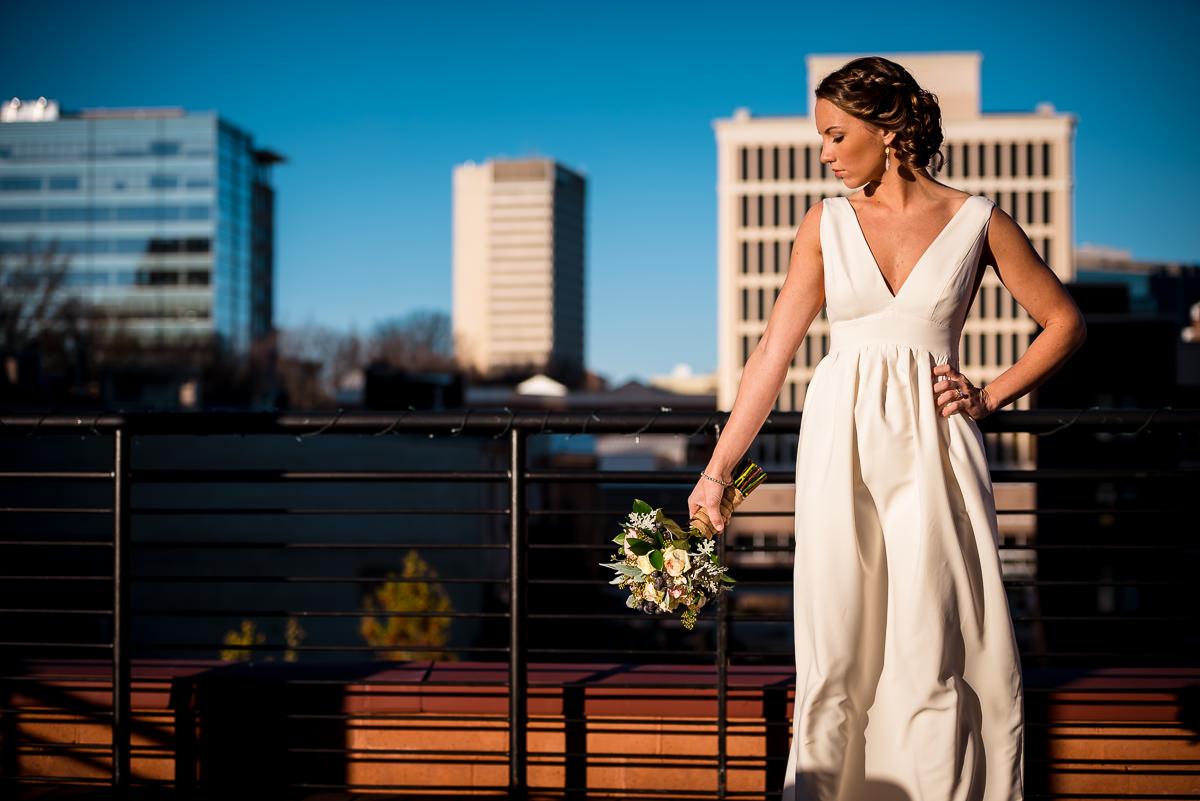 Greenville bridal photo