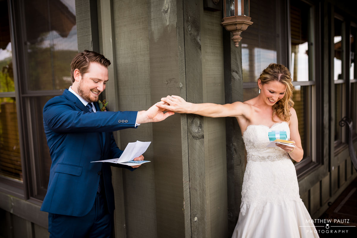 First Look | Grand Highlands at Bearwallow Mountain Wedding Photos