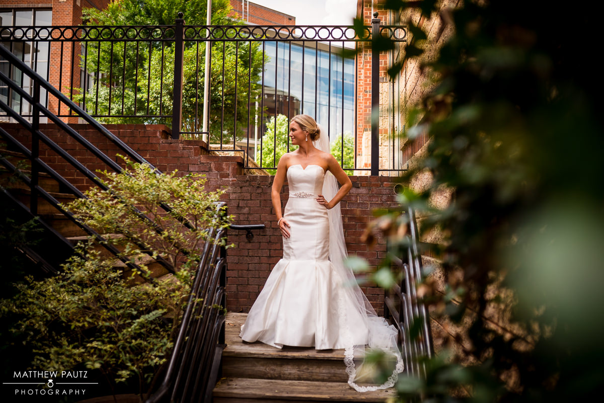 Downtown Greenville Wyche Pavilion Wedding Photos | Greenville Wedding Photographers