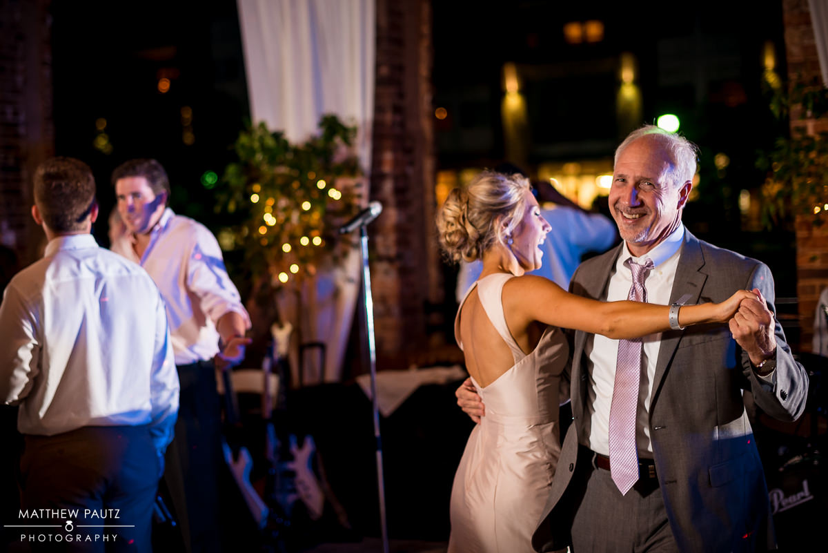 Wyche Pavilion Wedding Reception Photos | Greenville Wedding Photographers