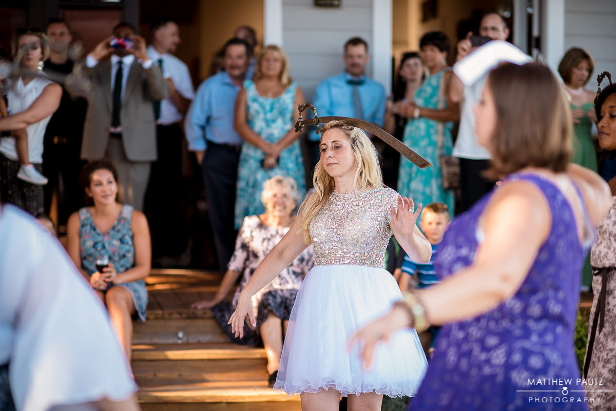 Silver Fork Winery Wedding Photos - butterfly tagging