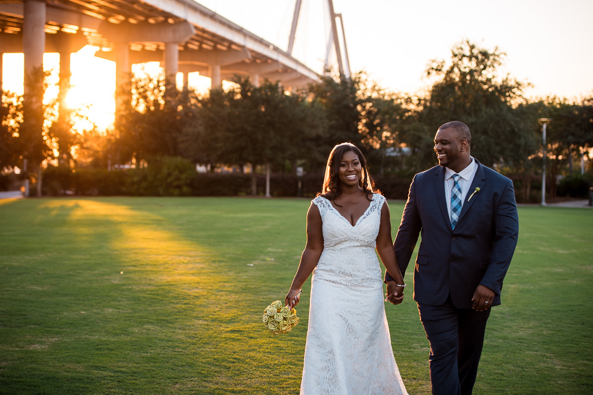 Charleston Destination Wedding | Cooper River Room | Jamie + Marquis