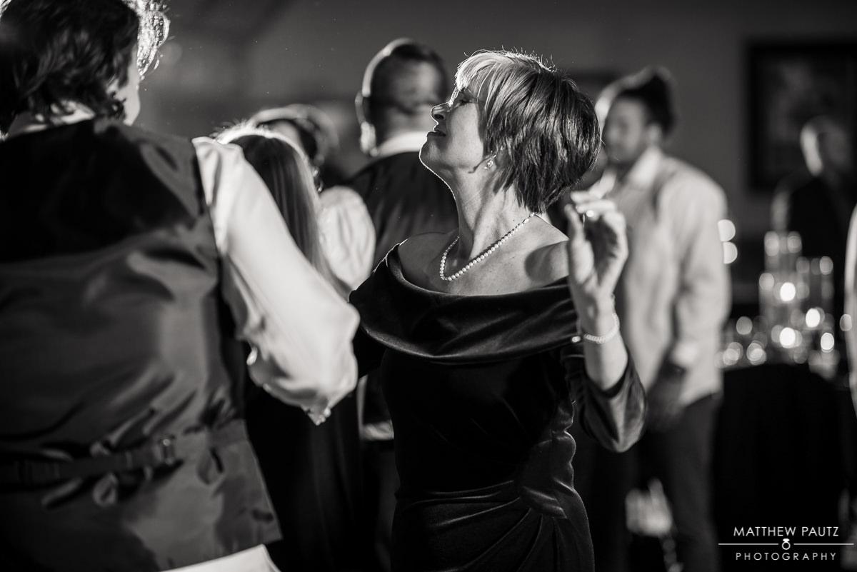 Crest Center wedding reception photos