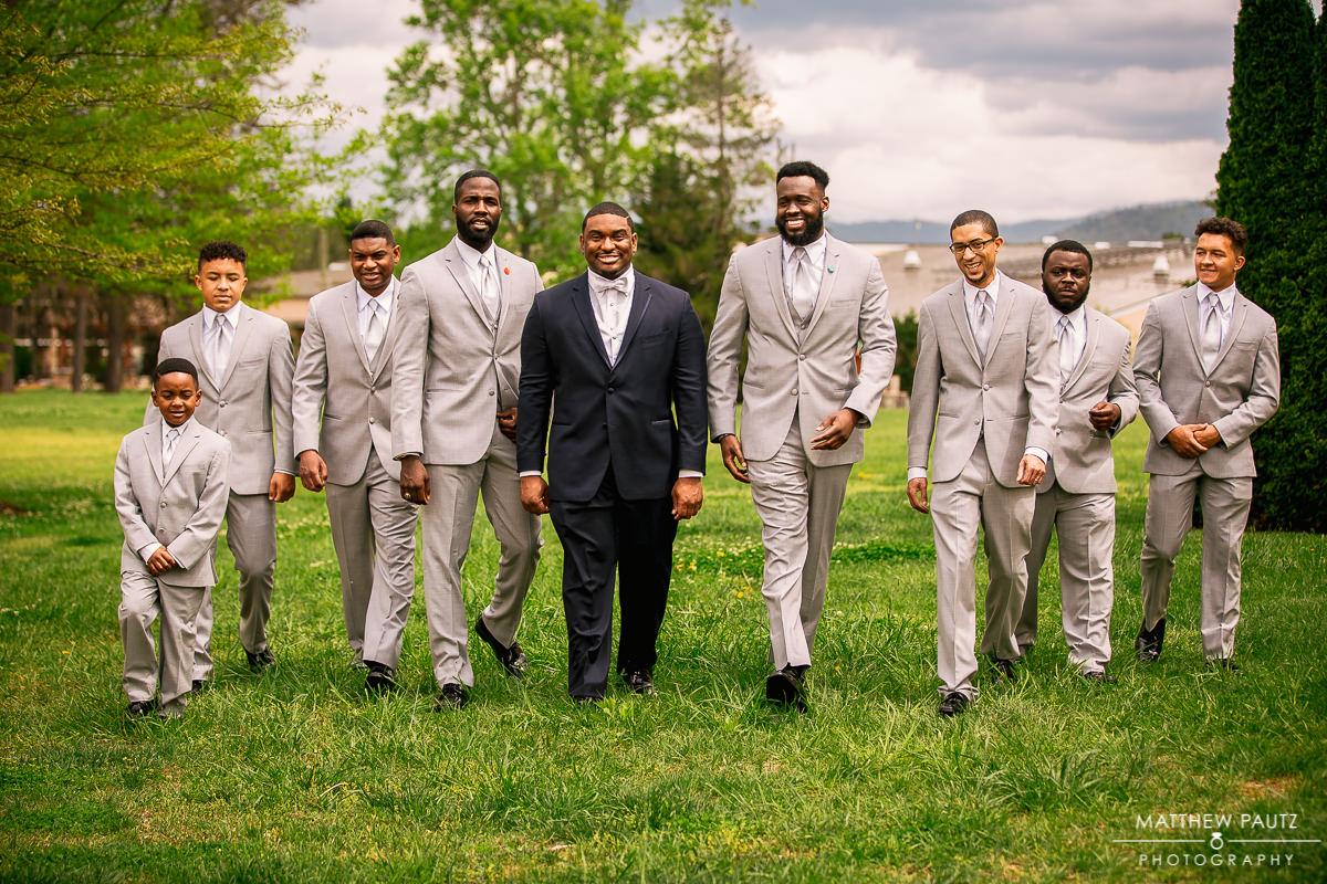 Crowne Plaza Asheville wedding photos