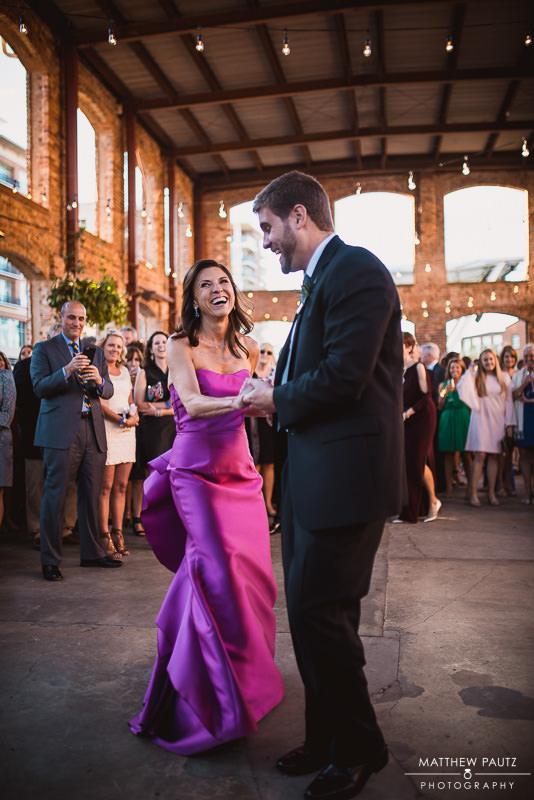 Wyche pavilion wedding