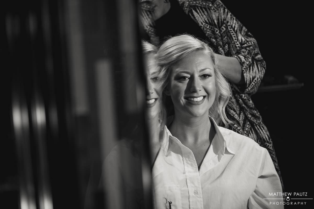 Bride at Lava Salon, Charleston SC