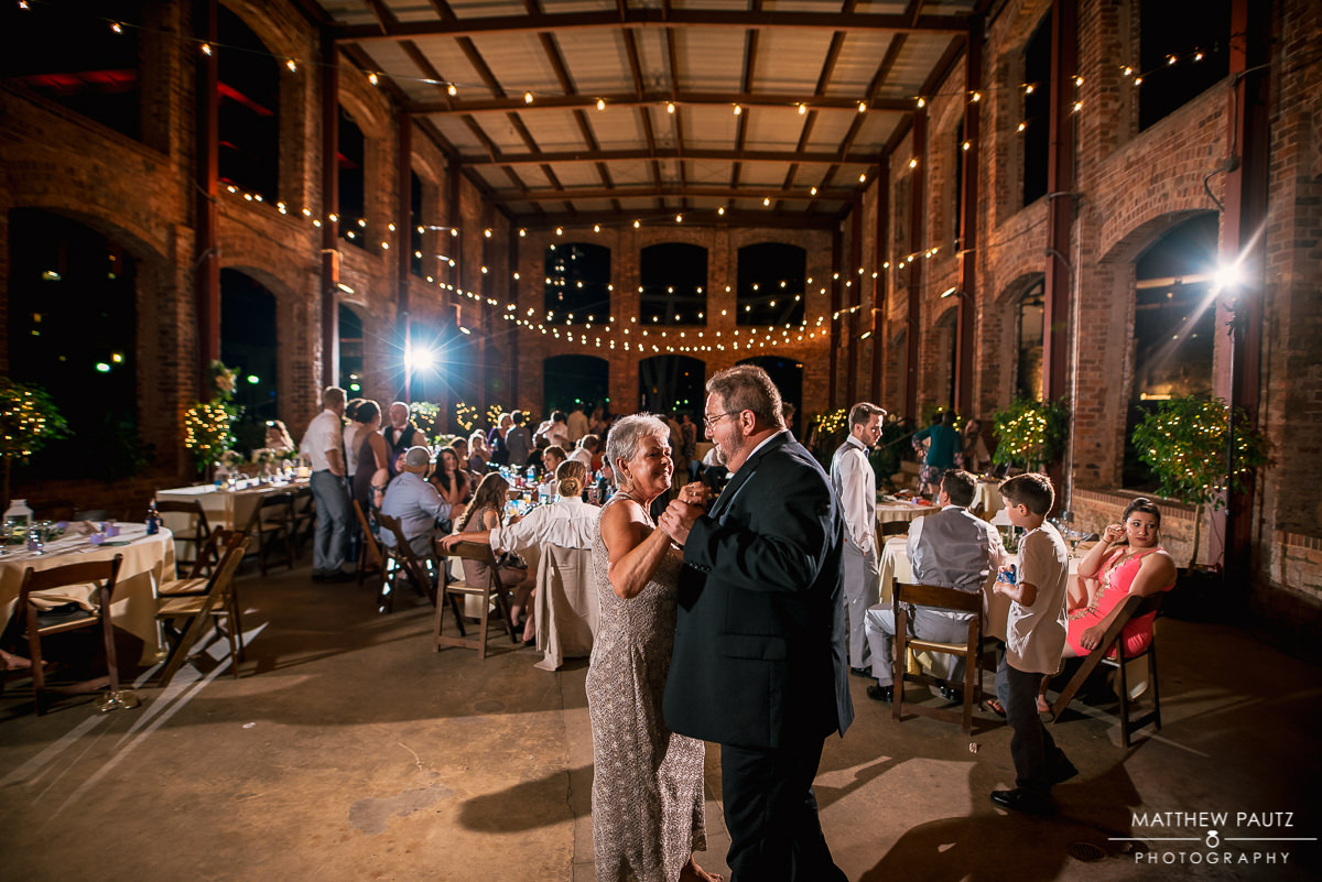 Reception at Wyche Pavilion